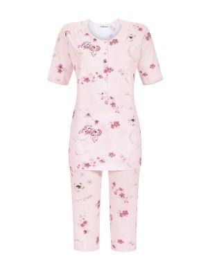 Dames pyjama van Ringella vlinderpatroon