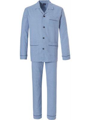 Flanellen heren doorknoop pyjama Robson