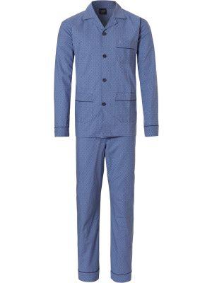 Katoenen Robson doorknoop pyjama