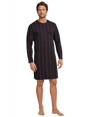 Zwarte Schiesser heren nachthemd