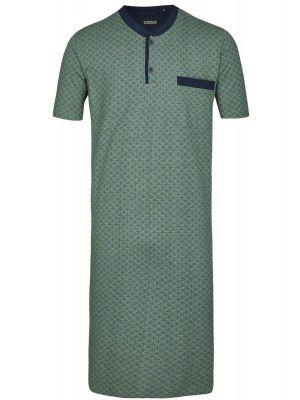 Laurier groen heren nachthemd Ringella