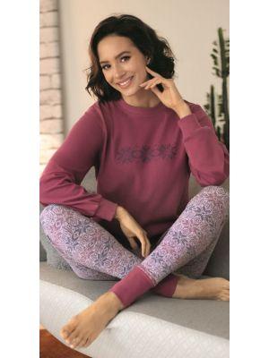 Roze dames pyjama Comtessa