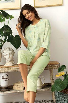 Groene pyjama Comtessa