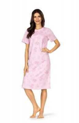 Roze bloemen nachthemd Comtessa