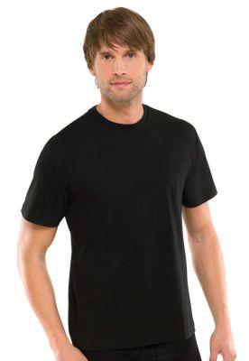 2 zwarte Schiesser t-shirts