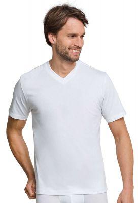 2 witte Schiesser t-shirts