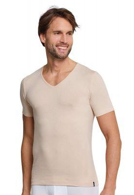 2 huidkleurige Schiesser shirts