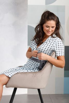 Dames overslag nachthemd Pastunette