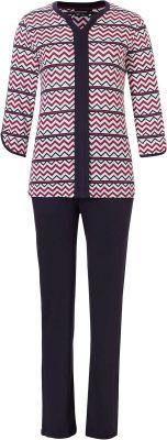 Pastunette pyjama met zigzag print