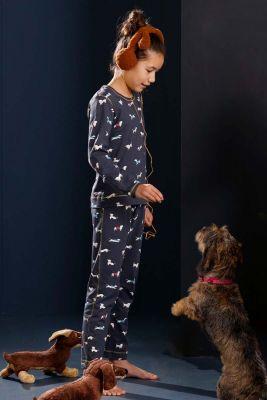 Meisjes pyjama hond