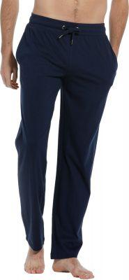 Blauwe heren pyjama broek