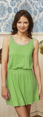 Groen nachthemd stippen van Bloomy