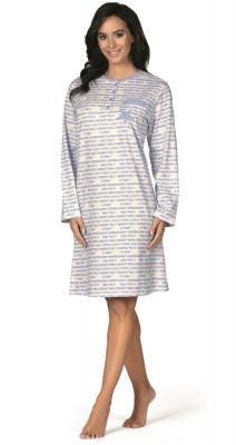 Blauw gestreept nachthemd Comtessa