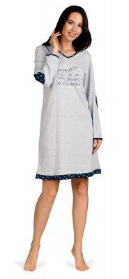 Sportief grijs nachthemd Comtessa