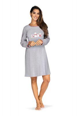 Dames nachthemd grijs
