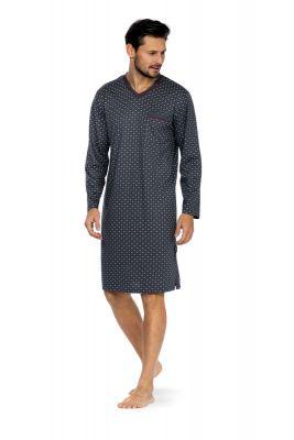Heren nachthemd grijs Comte