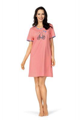 Flamingo roze dames nachthemd