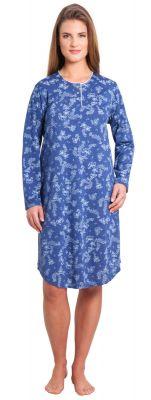 Nachthemd blauw Hajo