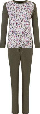 Pyjama met bloemen Pastunette