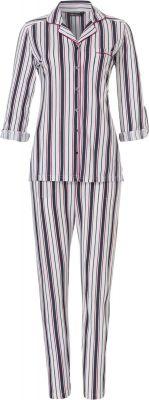 Doorknoop pyjama gestreept Pastunette