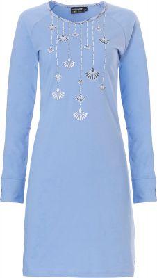 Blauw dames nachthemd Pastunette