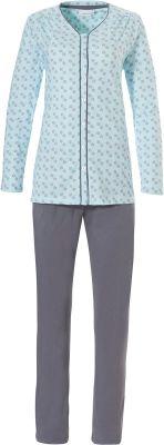 Pastunette doorknoop pyjama katoen
