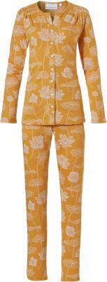 Luxe dames pyjama doorknoop