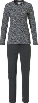 Dames pyjama grijs Pastunette