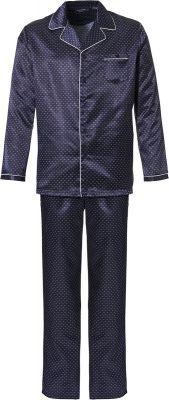 Satijnen doorknoop heren pyjama