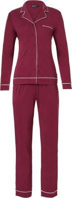 Doorknoop dames pyjama