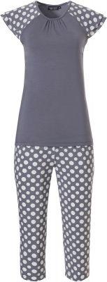 Grijze dames pyjama Pastunette