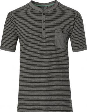 Grijs gestreept pyjama shirt