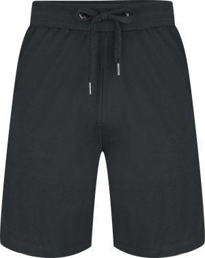 Grijze korte pyjama broek heren