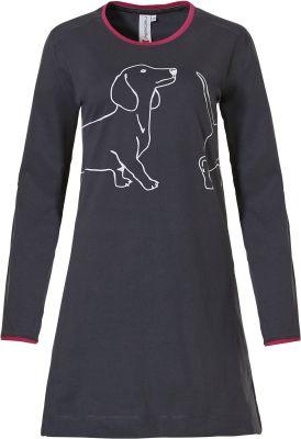 Dames nachthemd hond