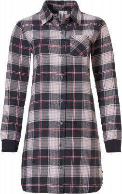 Doorknoop nachthemd flannel