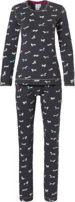 Dames pyjama Rebelle hondjes