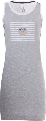 Mouwloos nachthemd grijs
