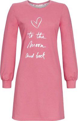 Ringella nachthemd rozenbottel roze