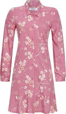 Fel roze Ringella nachthemd met knopen