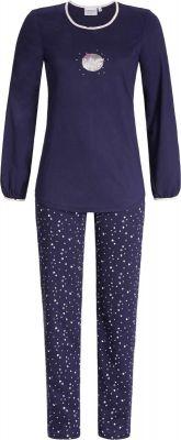 Blauwe pyjama To the moon