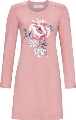 Roze bloemen nachthemd