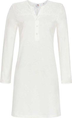 Elegant wit nachthemd
