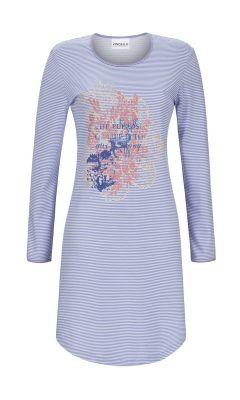 Ringella nachthemd blauw