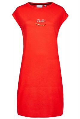Rood Ringella nachthemd chilipeper