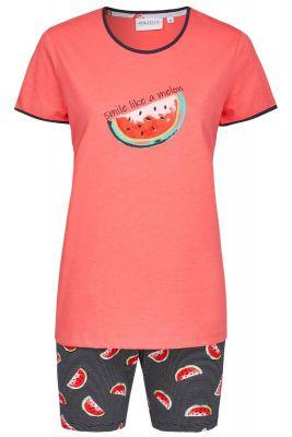 Licht rode Ringella shortama meloen