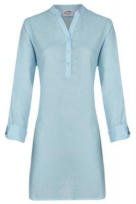 Blauw Ringella nachthemd voile