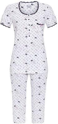 Witte dames pyjama