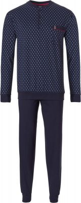 Heren pyjama Robson blauw