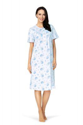 Klassiek blauw nachthemd van Comtessa