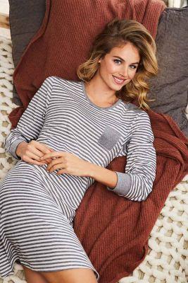 Warm sportief dames nachthemd Pastunette